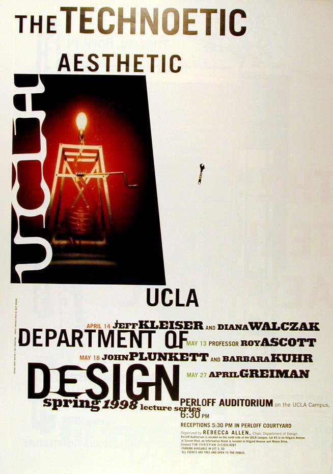 image of 'The Technoetic Aesthetic poster'