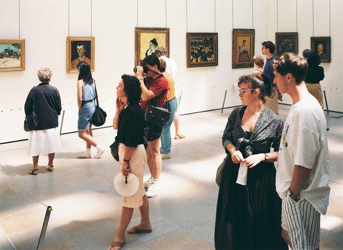 Musée d'Orsay 1, Paris, 1989