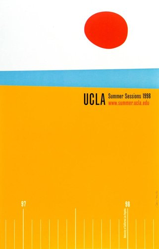UCLA Summer Sessions 1998 poster