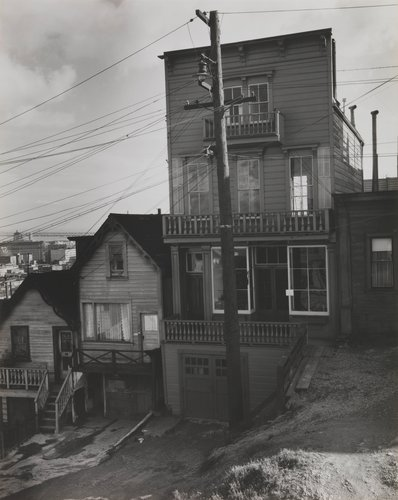 Old Telegraph Hill Houses, San Francisco, California