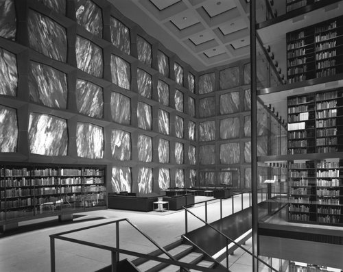 Gordon Bunshaft/Skidmore, Owings & Merrill, Beinecke Rare Book and Manuscript Library, Yale University, New Haven, Connecticut, 1963