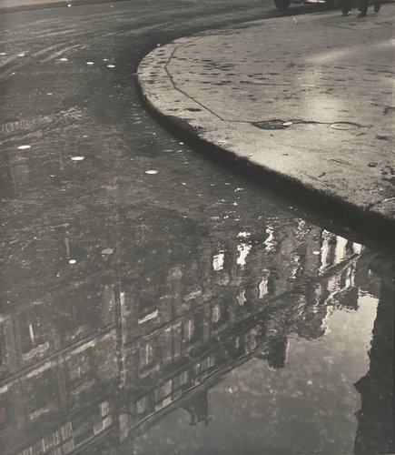 Puddle of Water, Rue de Vaugirard, Paris