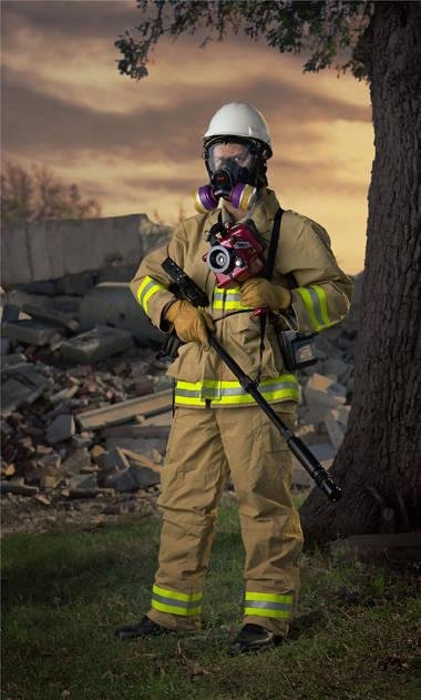image of 'Urban Search and Rescue, from the series Security'
