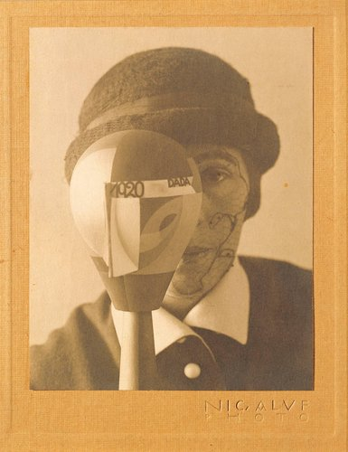 Self-Portrait with Dada-Kopf (Dada Head)