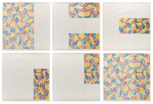 6 Lithographs (after 'Untitled 1975')