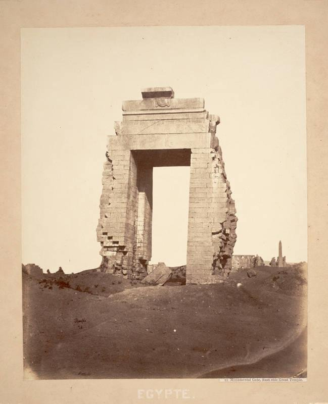 image of 'Egyptian Monument at Karnak'