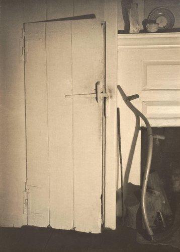 Doylestown House - Closet Door with Scythe