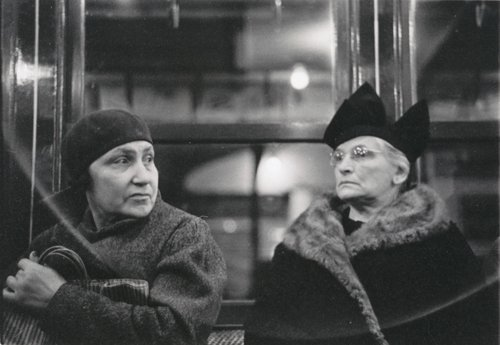 [Subway Passengers, New York]