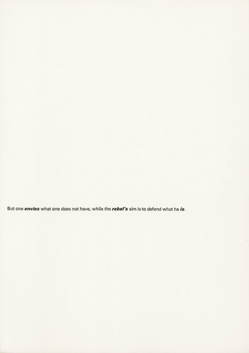 The Rebel Albert Camus: Twenty-Five Typographic Meditations [page 34]