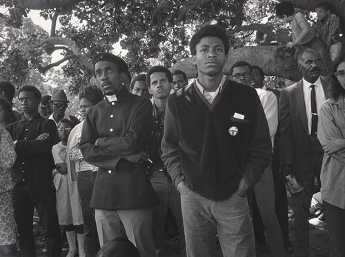 Free Huey Rally, De Fremery Park, Oakland, California, July 14, 1968, from The Vanguard: A Photographic Essay on the Black Panthers