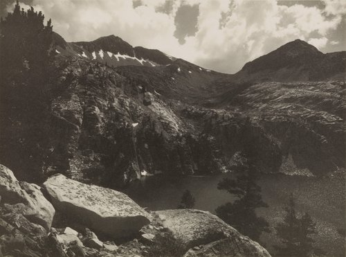 Cloud and Mountain, from the portfolio Parmelian Prints of the High Sierras