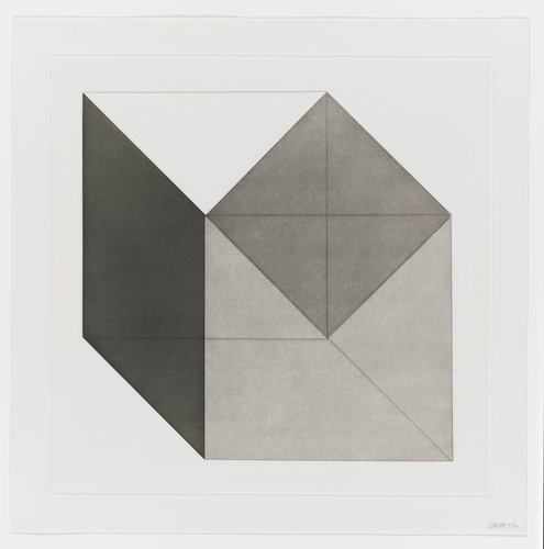 Forms Derived from a Cube, Plate #04