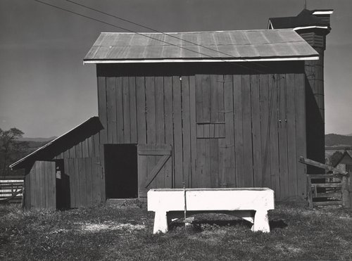 South of Washington, D.C., Barn and Water Trough