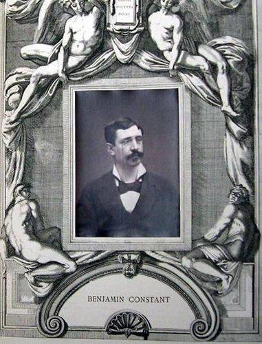 Benjamin Constant, from the publication Galerie Contemporaine