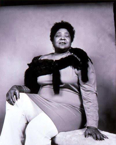 Black Woman with Fox Shawl, San Francisco, California, from the series American Portraits