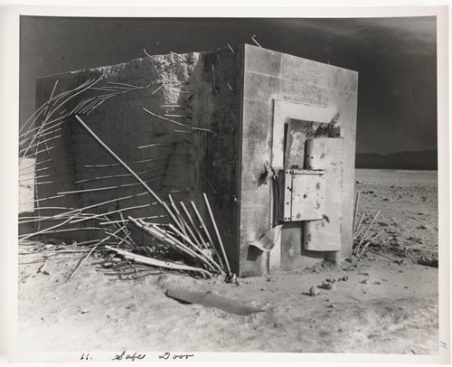 Atomic Tests in Nevada [Safe door]