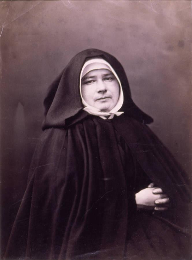 image of 'Portrait de Mère Marie Jamet, Supérieure de l'Ordre des Petites Soeurs des Pauvres (Portrait of Mother Marie Jamet, Superior of the Order of the Little Sisters of the Poor)'