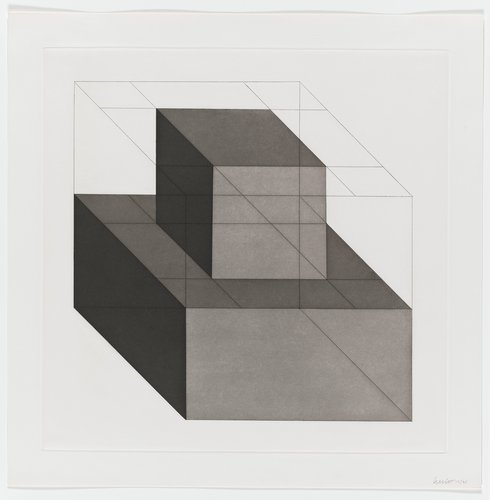 Forms Derived from a Cube, Plate #10