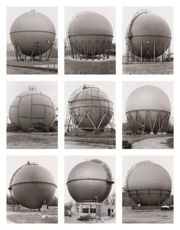 Image for artwork Gasbehälter (Kugel), Deutschland (Gas Holders [Spherical], Germany)