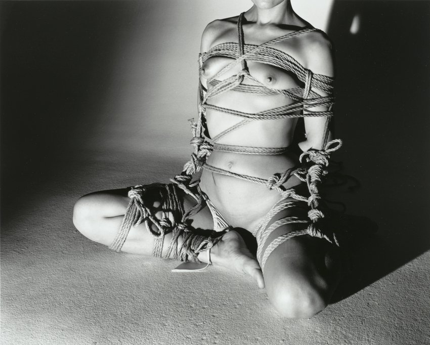 image of 'Kinbaku (Bondage), from the series Love in Winter'
