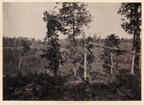 Battle Ground of Resaca, Georgia, No. 2, from Photographic Views of Sherman's Campaign