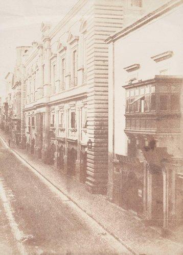 Street Scene in Valetta, Malta