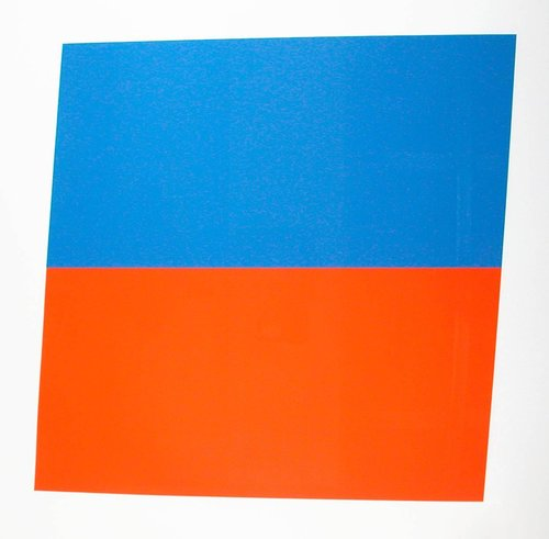 Blue Red-Orange