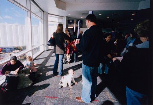 Oakland Airport, California, from the portfolio Analog Days