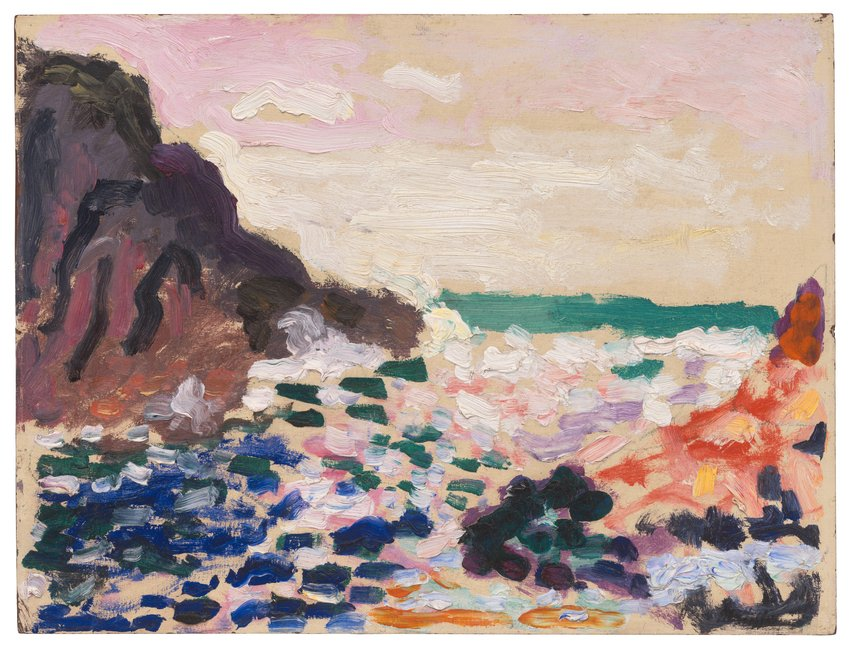 image of Marine (Bord de mer) (Seascape [Beside the Sea])