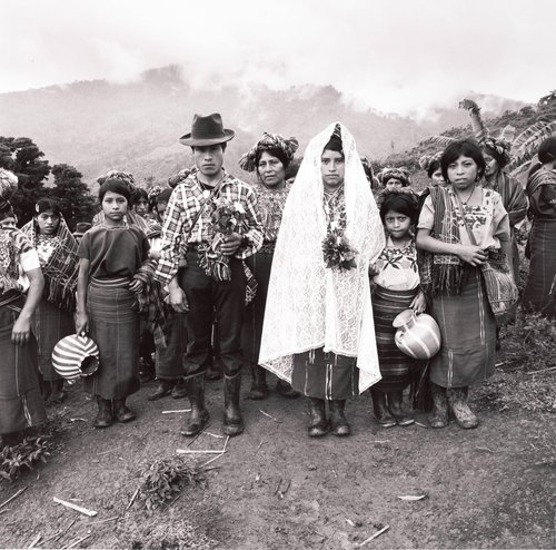 The marriage of Juan and Maria, Cabá, Communities of Population in Resistance (CPR) of the Sierra, Quiché, Guatemala