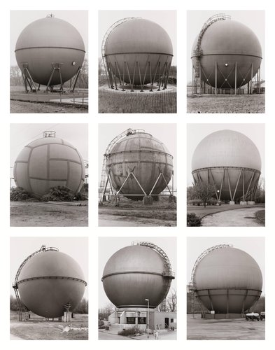 Gasbehälter (Kugel), Deutschland (Gas Holders [Spherical], Germany)