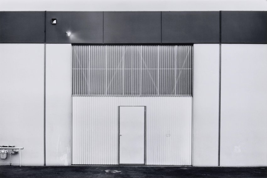 image of 'South Wall, Hand K Industries, 1611 S. Boyd Street, Santa Ana, from the portfolio The New Industrial Parks near Irvine, California'