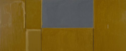 Open No. 11 (In Raw Sienna with Gray)