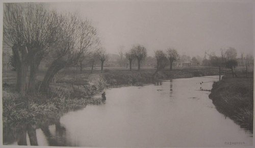 Mouth of the River Ash, from the Compleat Angler