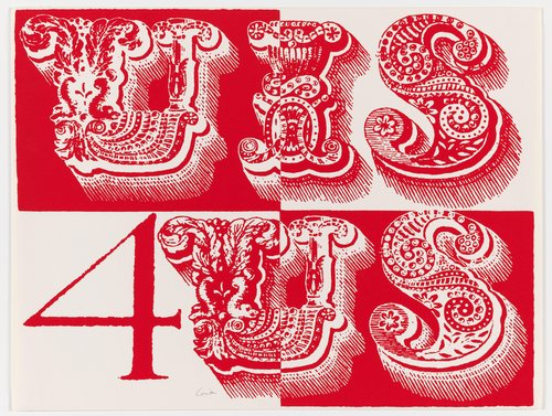 u is for us, from the series International Signal Code Alphabet