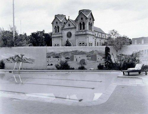 Poolside, La Fonda Hotel, Santa Fe