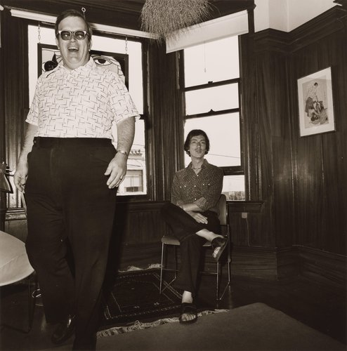 Corky & Howard Becker, from the portfolio, Siblings