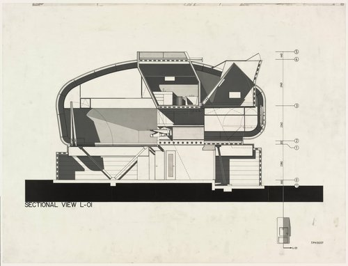 Prototype House, Tokyo drawing