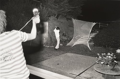 Night golfing, from the series The Jangs