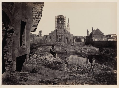 Ruins in Charleston, South Carolina, from Photographic Views of Sherman's Campaign