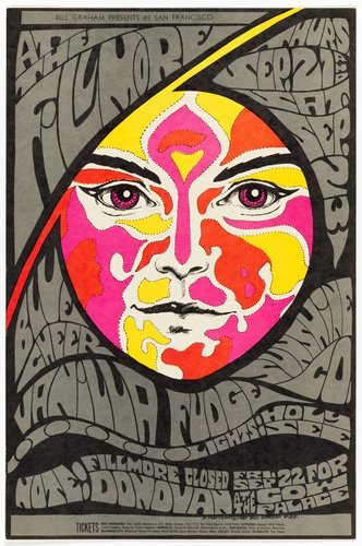 Blue Cheer, Vanilla Fudge, Sunshine Co.; Fillmore Auditorium, September 21 & 23, 1967