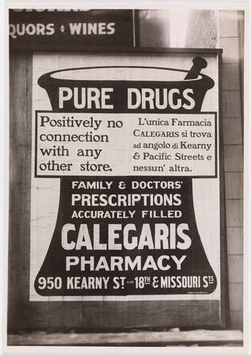 Calegaris Pharmacy Billboard