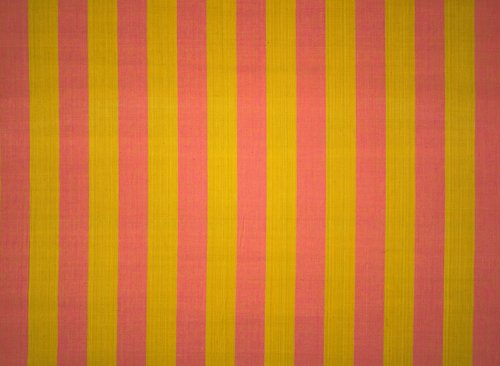 Mexicotton Stripe #1230 Varied Use Fabric [Pink and Ochre]