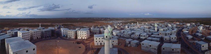 image of 'Urban Warfare Training Center, Panorama, Tze'elim'