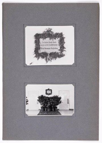 Hermann Graf Keyserling album, page 7