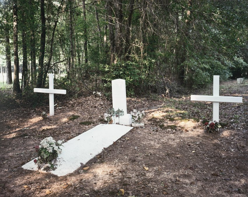 image of 'Painted Grave, Stewart, Alabama'