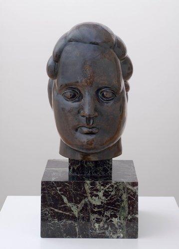 Grosse tête; Henriette, II (Large Head; Henriette, II)