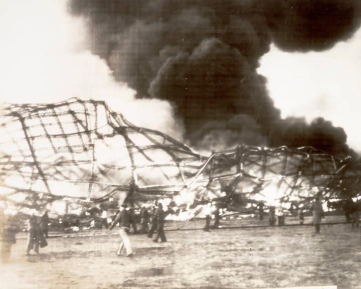 image of 'Crash of the Hindenburg'