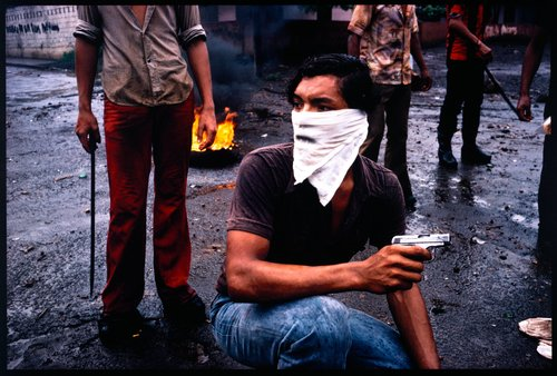 Street Fighter, Managua, from the series Nicaragua