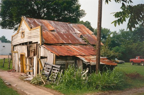 T.B. Hick's Store (Side View), Newbern, Alabama